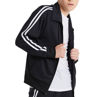 Stripe Sleeve Track Jacket