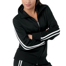 Load image into Gallery viewer, Stripe Sleeve Track Jacket