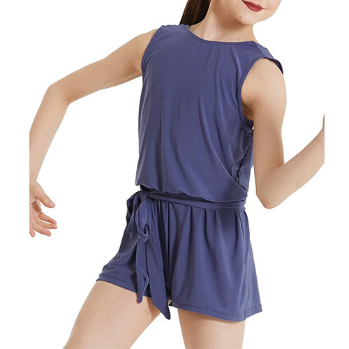 Open Back Jersey Romper