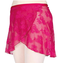 Load image into Gallery viewer, Stretch Lace Wrap Skirt