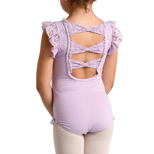 Lace Tank Bow Back Leotard