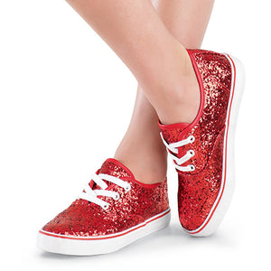 Low Top Glitter Shoes