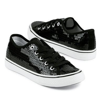 Low Top Sequin Shoes