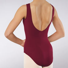 Load image into Gallery viewer, Low V-Back Princess Seam Leotard