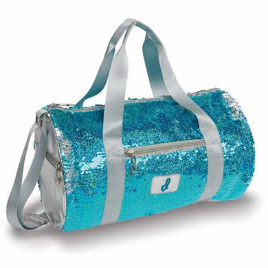 Clear Water Sequin Duffle