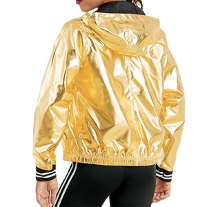 Metallic Bomber Jacket (Unisex)