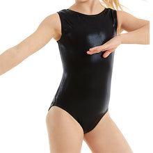 Load image into Gallery viewer, Metallic Tank Leotard