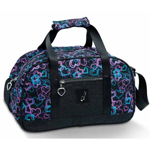Neon Hearts Duffle Bag