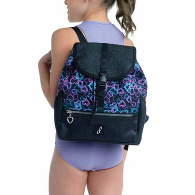 Neon Hearts Backpack