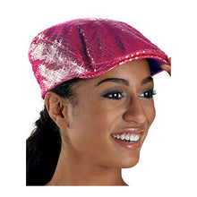 Load image into Gallery viewer, Sequin Newsboy Cap