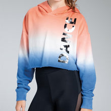 Load image into Gallery viewer, Ombre Crop Hoodie