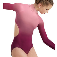 Load image into Gallery viewer, Ombre Cutout Leotard