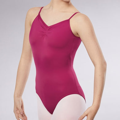 Low Back Pinch Front Leotard (Adult)