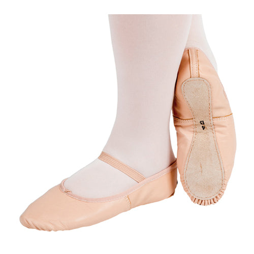 PW Leather Ballet Flats - Adult