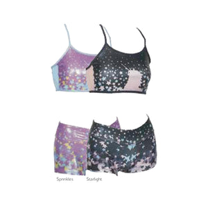 Unicorn Crop & Short Set