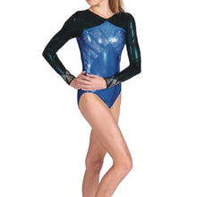 Load image into Gallery viewer, V Neck Spangle Leotard