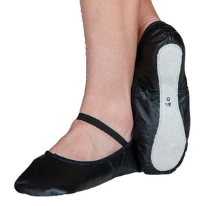 PW Leather Ballet Flats - Child (Black)