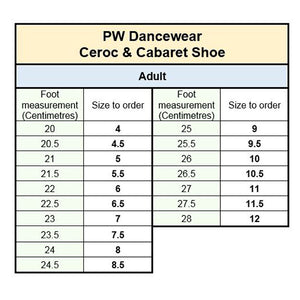 PW Ceroc & Cabaret Shoes