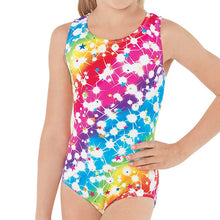 Load image into Gallery viewer, Rainbow Star Print Leotard