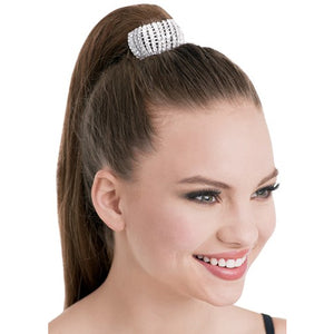 Rhinestone Hair Tie (Flexible)
