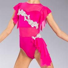 Load image into Gallery viewer, Ruffled Applique Leotard