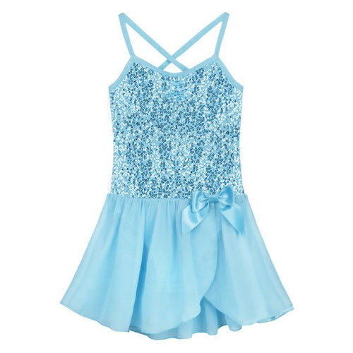 Bowknot Sequin Dress