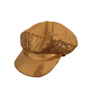 Sequin Cabbie Hat