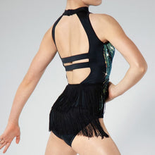 Load image into Gallery viewer, Flowing Sequin Leotard