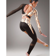 Load image into Gallery viewer, Metallic Snake Print Unitard