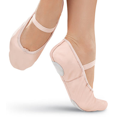 Balera Split Sole Leather Ballet Shoe