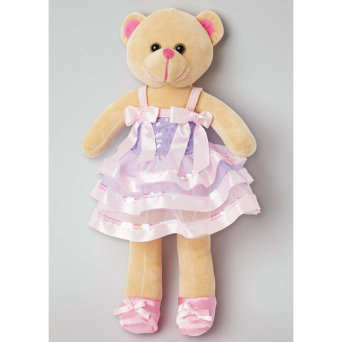 Ballerina Plush Teddy Bear