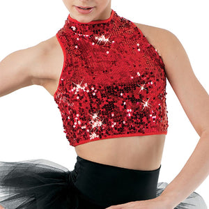 Ultra Sparkle Crop Top