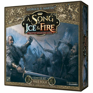 Discount A Song of Ice and Fire Free Folk Starter Set - West Coast Games