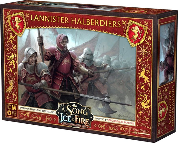 Discount A Song of Ice and Fire Lannister Halberdiers - West Coast Games