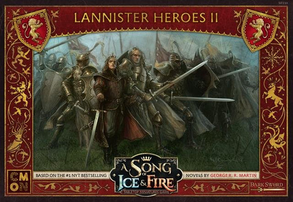 Discount A Song of Ice and Fire Lannister Heroes II - West Coast Games