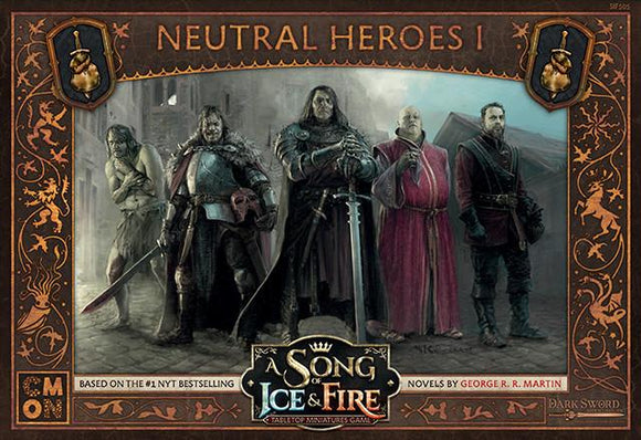 Discount A Song of Ice and Fire Neutral Heroes I - West Coast Games