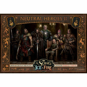 Discount A Song of Ice and Fire Neutral Heroes II - West Coast Games