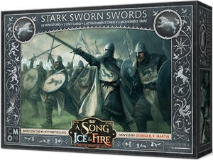 Discount A Song of Ice and Fire Stark Sworn Swords - West Coast Games