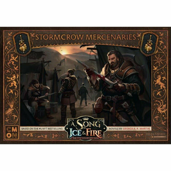 Discount A Song of Ice and Fire Stormcrow Mercenaries - West Coast Games