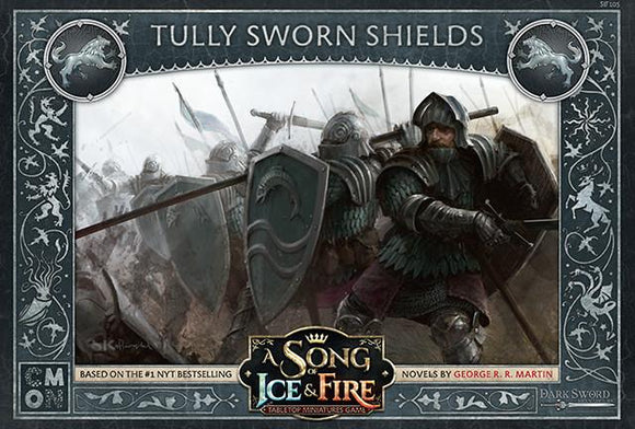 Discount A Song of Ice and Fire Tully Sworn Shields - West Coast Games