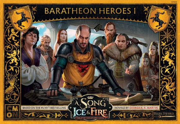 Discount A Song of Ice & Fire Baratheon Heroes I - West Coast Games