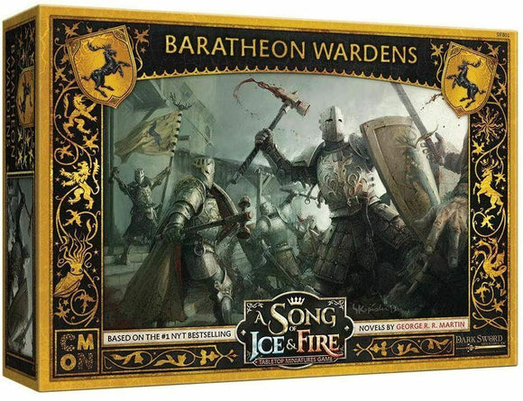 Discount A Song of Ice & Fire Baratheon Wardens - West Coast Games