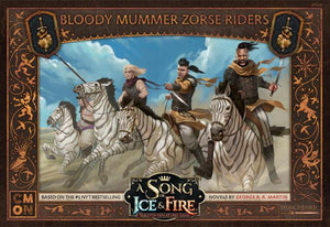 Discount A Song of Ice & Fire Bloody Mummer Zorse Riders - West Coast Games