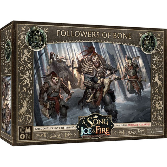 Discount A Song of Ice & Fire Followers of Bone - West Coast Games