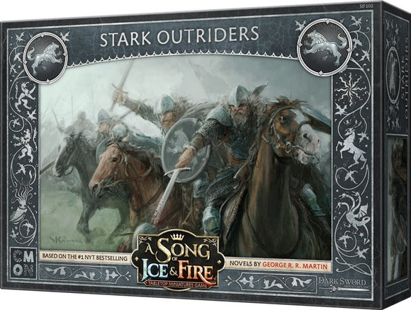 Discount A Song of Ice & Fire Stark Outriders - West Coast Games