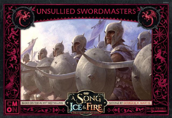 Discount A Song of Ice & Fire Targaryen Unsullied Swordsmen - West Coast Games