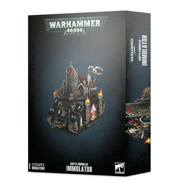 Discount Adepta Sororitas Immolator - West Coast Games