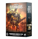 Discount Adeptus Titanicus Warbringer Nemesis Titan with Quake Cannon, Volcano Cannon and Laser Blaster - West Coast Games