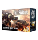 Discount Adeptus Titanicus Warhound Scout Titans - West Coast Games