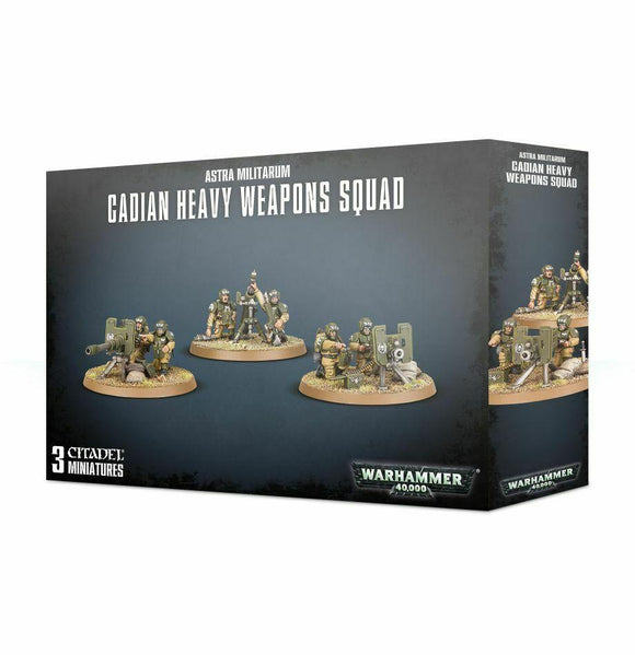Discount Astra Militarum Cadian Heavy Weapons Squad - West Coast Games